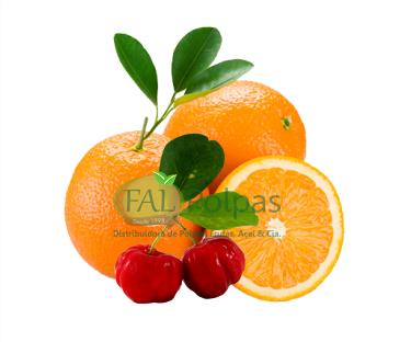 acerola com laranja